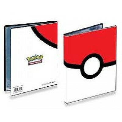 Ultra Pro Pokemon Pokeball 4 Pocket Trading Card Portfolio - Brand new!
