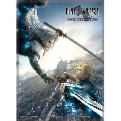 Final Fantasy TCG FFVII Advent Children Cloud/Sephiroth Sleeves (60 Pack) - B...