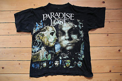 Paradise Lost - Draconian Times 1995 Tour T-Shirt L rare - Anathema Moonspell