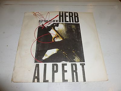 "HERB ALPERT - Keep Your Eye On Me - Original 1987 UK 3-track 12"" vinyl single"