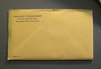 1964 U.S. MINT SILVER PROOF COIN SET - Original Sealed Envelope -*Free Shipping*