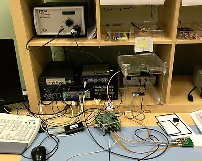 Micropross MP300 NFC EMVCO test system with scope, RF amp, card emulator etc.