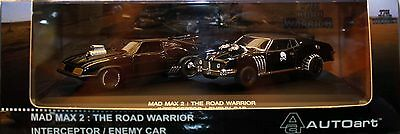 Autoart 1:43 Mad Max 2 The Road Warrior Interceptor/enemy Car 52745