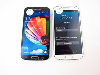 Lot of 2 Samsung Galaxy S4 (M919) (Tmobile) (Check ESN)_C12