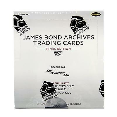 James Bond Archives The Final Edition Trading Cards Box