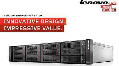 Lenovo ThinkServer SA120 JBOD Array Dual Power Supply, Dual Controller