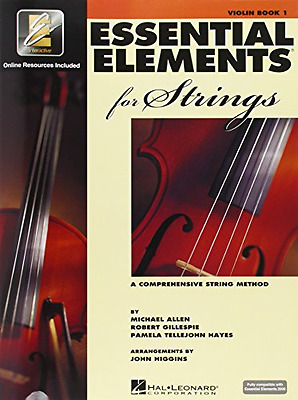 Essential Elements for Strings: Book 1 with EEi (Violin), Paperback