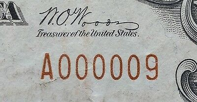 Low Serial Number Single (one) Digit A000009 ~ $10 Rare 1929 National Bank Note