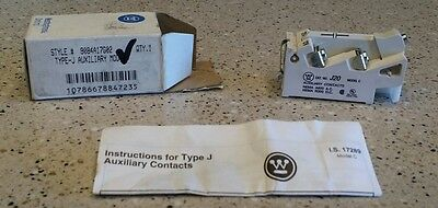 *NEW IN BOX* WESTINGHOUSE CUTLER HAMMER J20 Type J Auxiliary Contact 9084A17G02