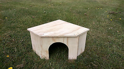 Rabbit Guinea Pig Tortoise Large Shelter House Hide For Run Painted Waterproof