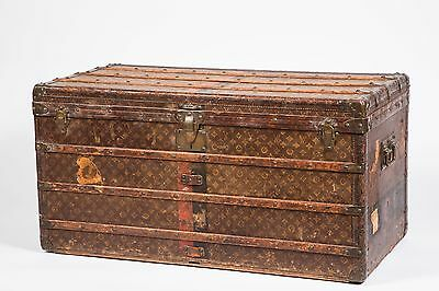 Louis Vuitton Steamer Trunk Circa 1920s