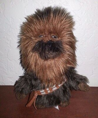 "Star Wars Chewbacca 7"" Plush Figure Comic Images Lucas Films EUC"