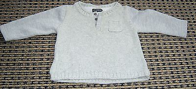 Fred Bare Baby Boys Grey  Jumper / Windcheater  Sz 0
