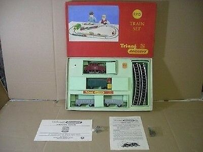 Triang Hornby Rpd Transcontinental Train Set New Boxed