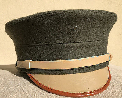 USMC P1912 Bell Crown Cap Forest Green Size 7 1/2