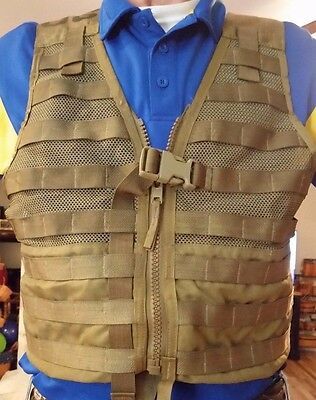 Fighting Load Carrier * COYOTE BROWN * EXCELLENT * USED CONDITION* USGI !!