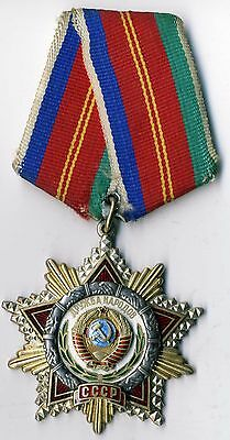 SOVIET Russian Order of Friendship of the  People's Original (1400)
