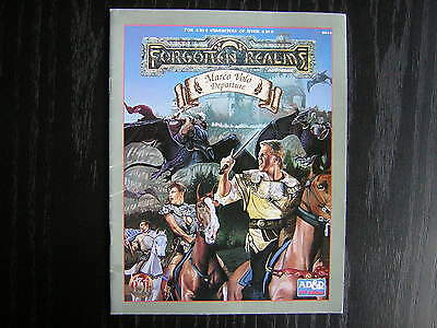 AD&D Dungeons & Dragons 2E Forgotten Realms Adventure - Marco Volo: Departure
