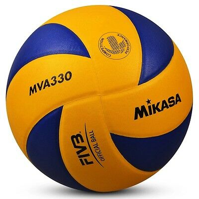 Mikasa 330 volleyball Olympic Game official ball within whistle needle net pump