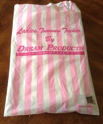Vintage Dream Products Tummy Tucker Girdle Brief Size Large New