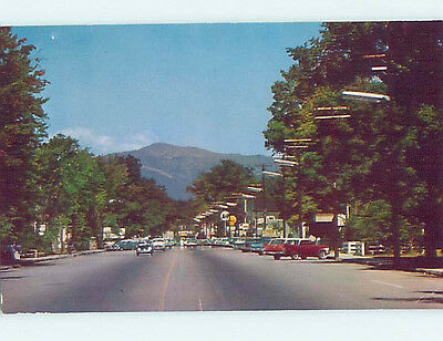 a&p Store & Distant Shell Gas Station Sign North Conway New Hampshire NH hs3986