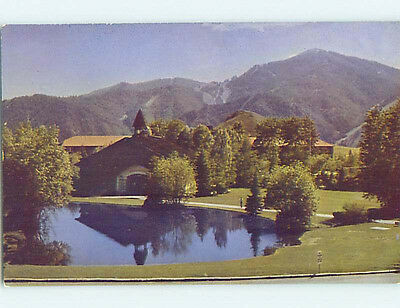 Unused Pre-1980 LODGE SCENE Sun Valley Idaho ID J6788-12