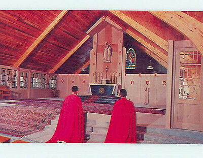 Pre-1980 CHAPEL AT PEACE MISSION SEMINARY Jaffrey Center New Hampshire NH J8063