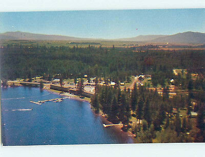 Unused Pre-1980 LODGE SCENE Mccall Idaho ID J6792
