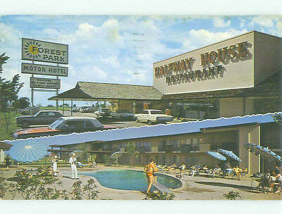 Damaged Pre-1980 FOREST PARK MOTEL & RESTAURANT Arlington Texas TX HQ2317