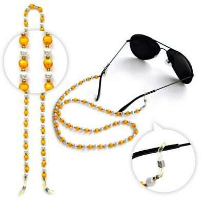 1pcs Arylic Beaded Strap Eyeglass Spectacle Strap Cord Holder Lanyard 60cm