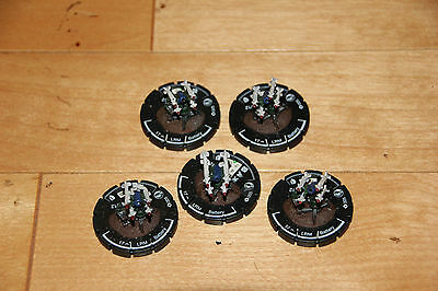 Swordsworn LRM Battery infantry set Mechwarrior Clix