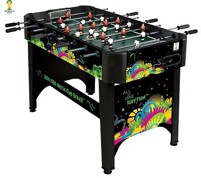 New Foosball Soccer Table FIFA World Cup 4' Playing Area Official FIFA Product