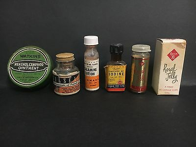 VINTAGE AUSTRALIAN PRODUCTS BOTTLE LOT FROM 1950's/60's