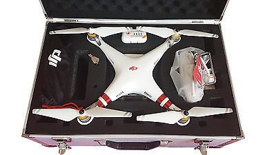 DJI PHANTOM 3 STANDARD QUADCOPTER DRONE with FREE Silver Aluminium Hard Case