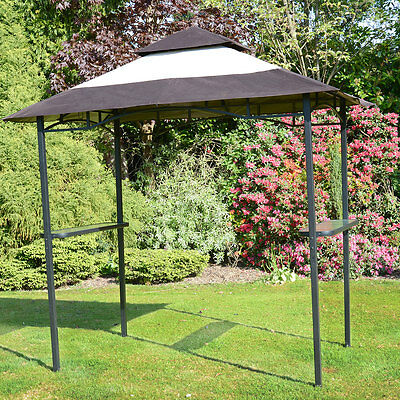 BBQ Gazebo Shelter - Steel Frame Barbecue, Bar & Party Shelter