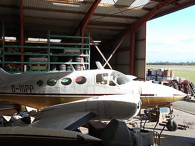 Cessna 421 serial. 421-0109 for sale in parts