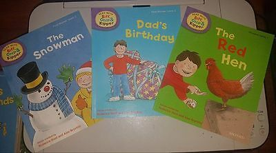 Level 1 and 2 Oxford Reading Tree Biff Chip & Kipper Phonics Collection Book Set