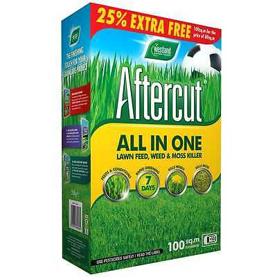 Westland Aftercut All in One Lawn Feed, Weed & Moss Killer