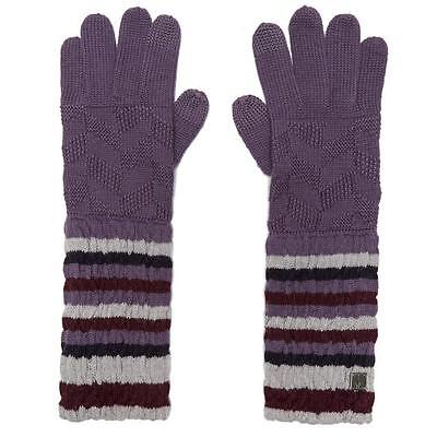 Smartwool Women's Chevron Gloves Purple One Size