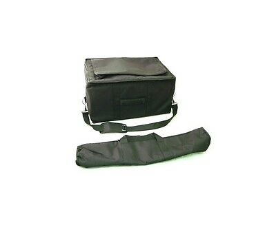 """Bongo Gig Bag and Stand Bag 7"""" & 8"""" Deluxe Padded Carrying Case"""