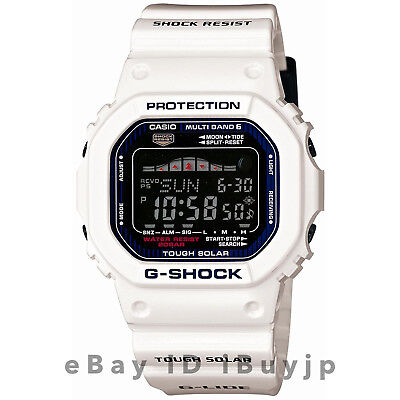 Casio G-Shock GWX-5600C-7JF G-Lide Multiband 6 Tide Graph & Moon Data Mens Watch