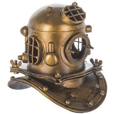 VINTAGE STYLE METAL DEEP SEA DIVER'S HELMET NAUTICAL OCEAN Home Decor