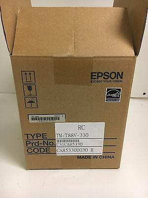 *NIB* Epson TM-T88V-330 C31CA85330 Ethernet & USB Printer with Power Supply