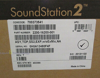 Polycom Soundstation 2 Conference Phone 2200-16200-001 -  New in open box