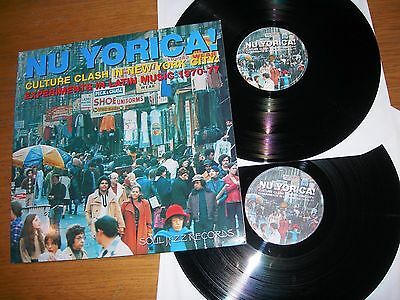 NU YORICA! CULTURE CLASH IN NEW YORK CITY: EXPERIMENTS IN LATIN MUSIC Double LP