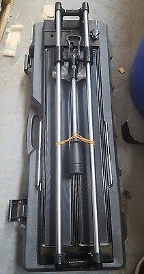 Heavy Duty Tile Cutter + Carry Case 60cm Wall Floor Quary Hudson Pro