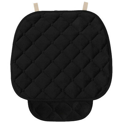 Car Plush Seat Cushion Breathable Therapy Chair Cover Pad, black L8R6