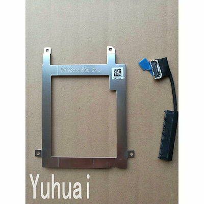 New Dell Latitude E7440 HDD Cable Connector HH0YC & HDD Caddy Bracket