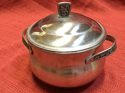 Vintage  Monterey Server Hostess Pot Stainless Steel Holloware