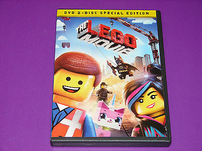 The LEGO Movie (DVD, 2014, 2-Disc Set, Special Edition)   ***VERY NICE***